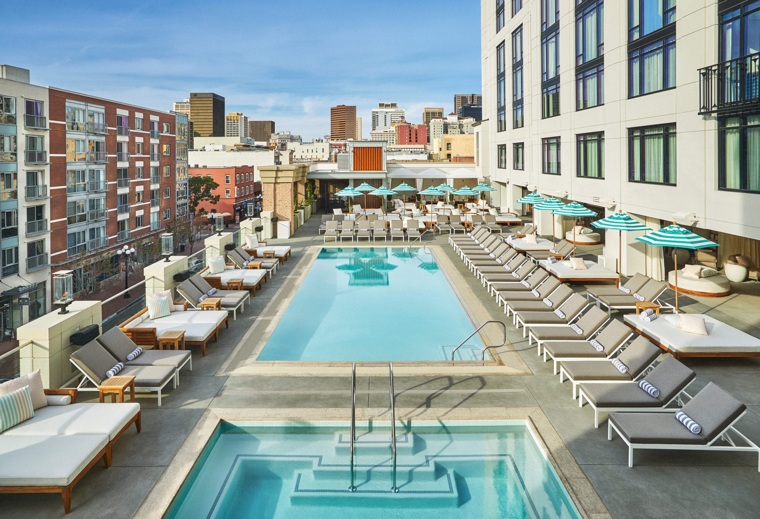 The pool at Pendry San Diego