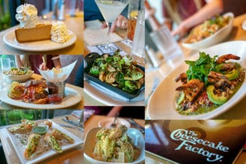 The Cheesecake Factory fall menu in San Diego