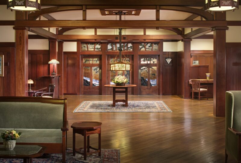 the lodge at torrey pines lobby