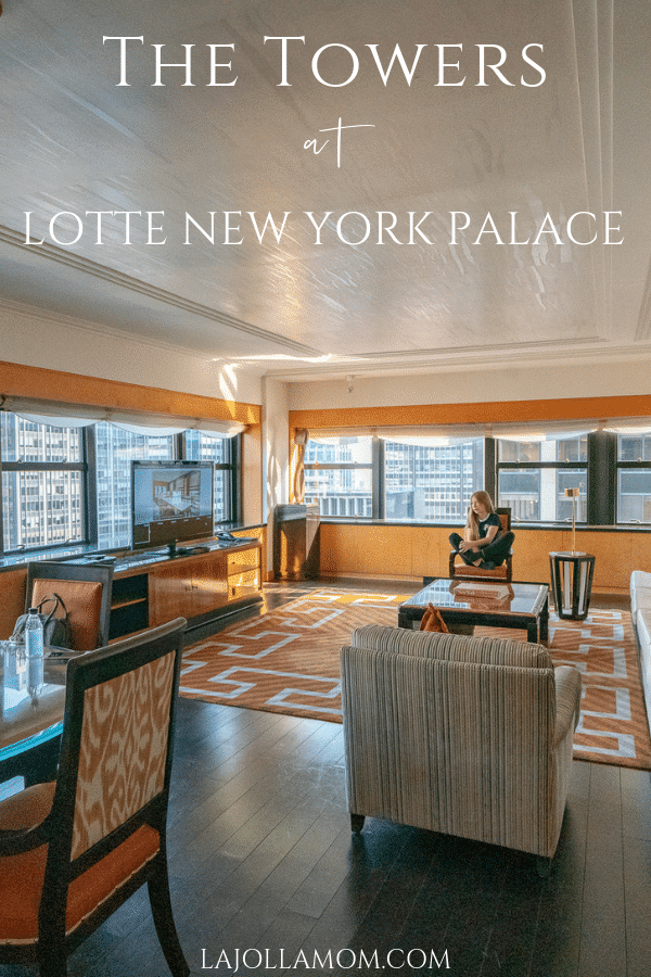 A review of our stay at The Towers at Lotte New York Palace, a New York luxury hotel that is popular with families.