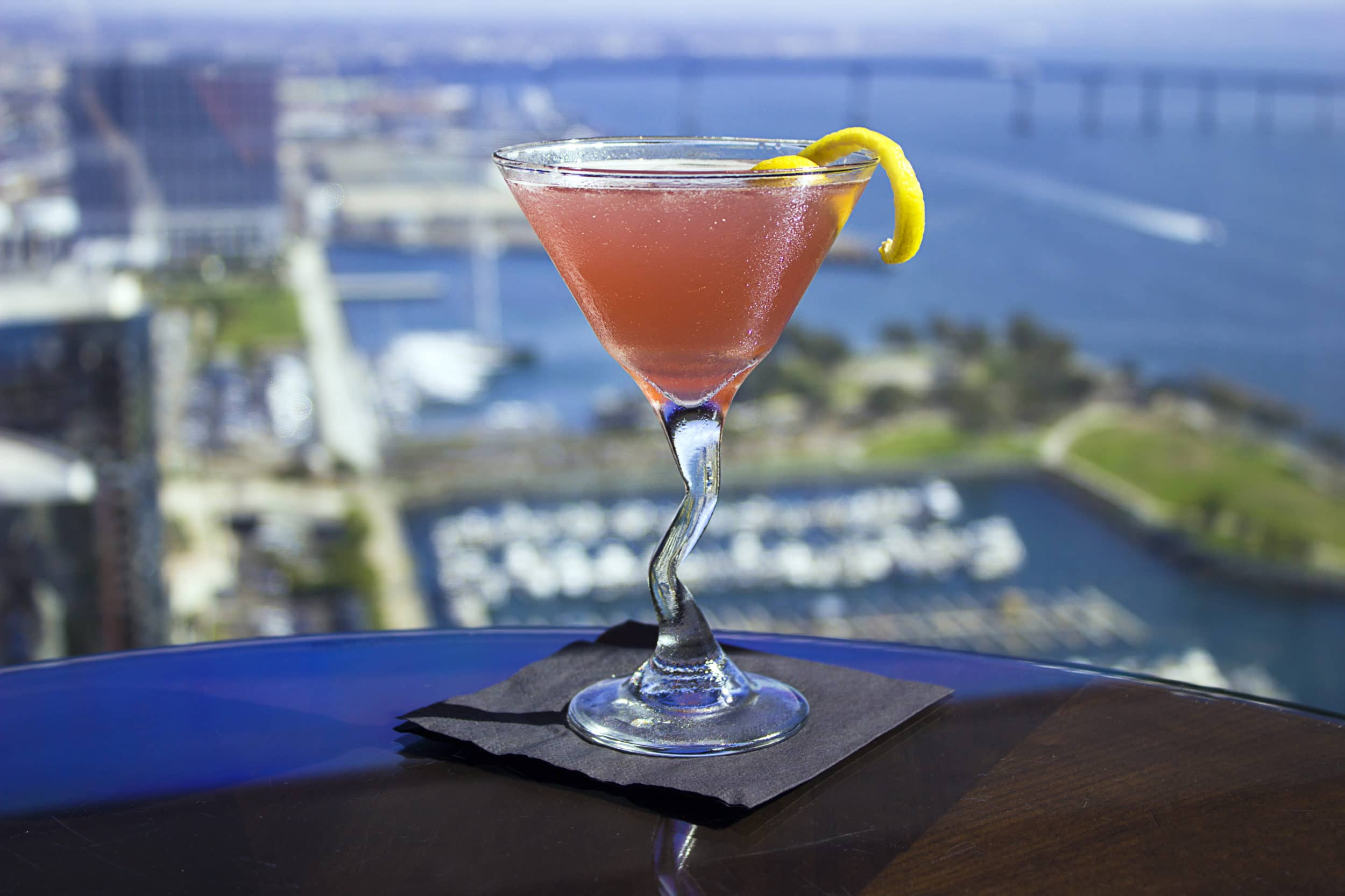 Top of the Hyatt San Diego at Manchester Grand Hyatt