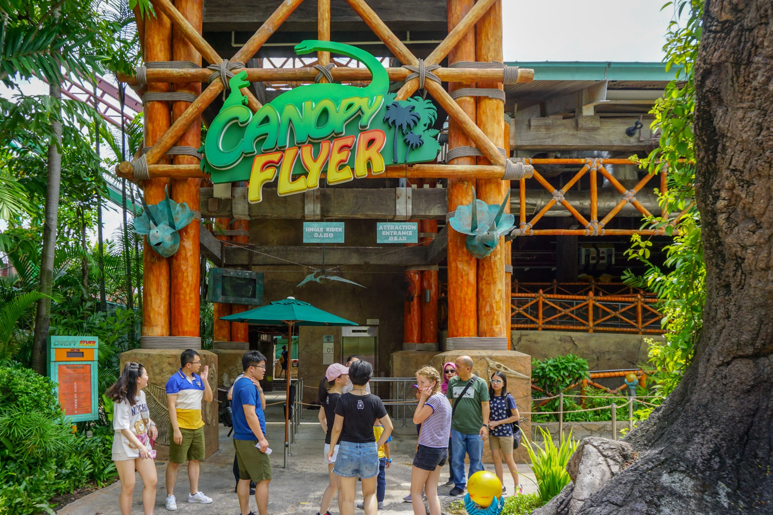 Universal Studios Singapore Canopy Flyer