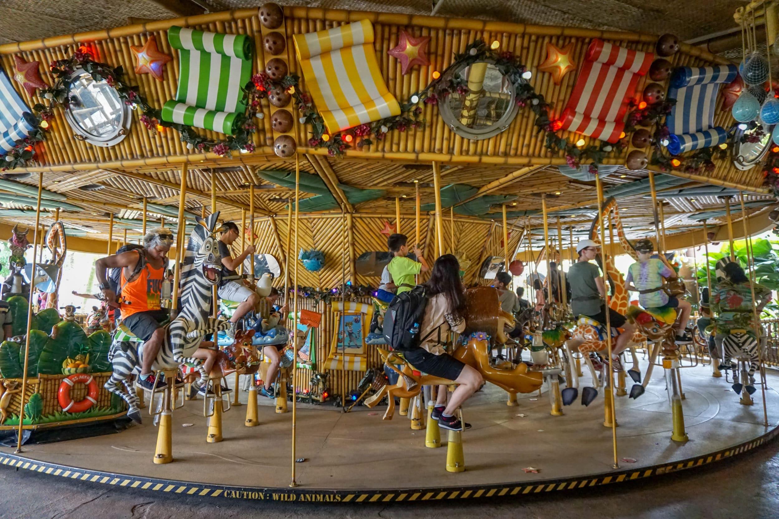 Universal Studios Singapore carousel