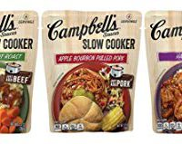 Campbell's Slow Cooker Sauces, Variety Pack, 13 oz (Pack of 6)