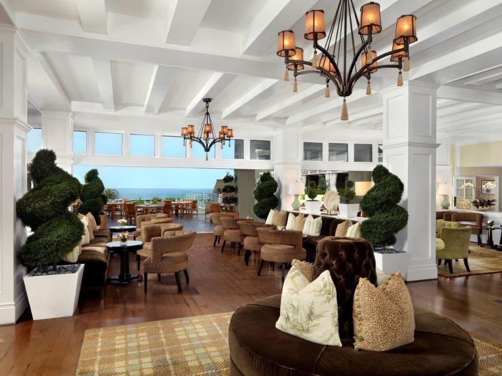 L'Auberge Del Mar Living Room Bar