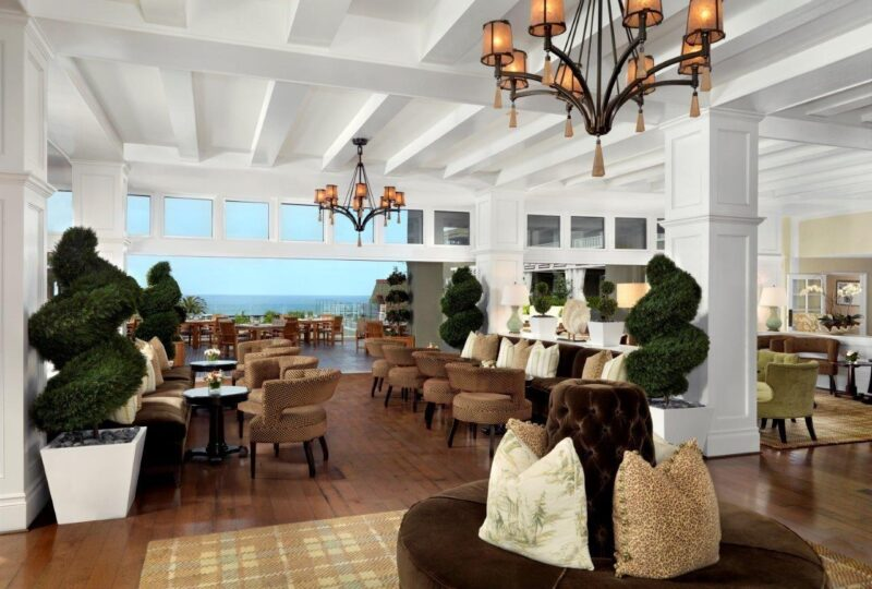 L'Auberge Del Mar Living Room