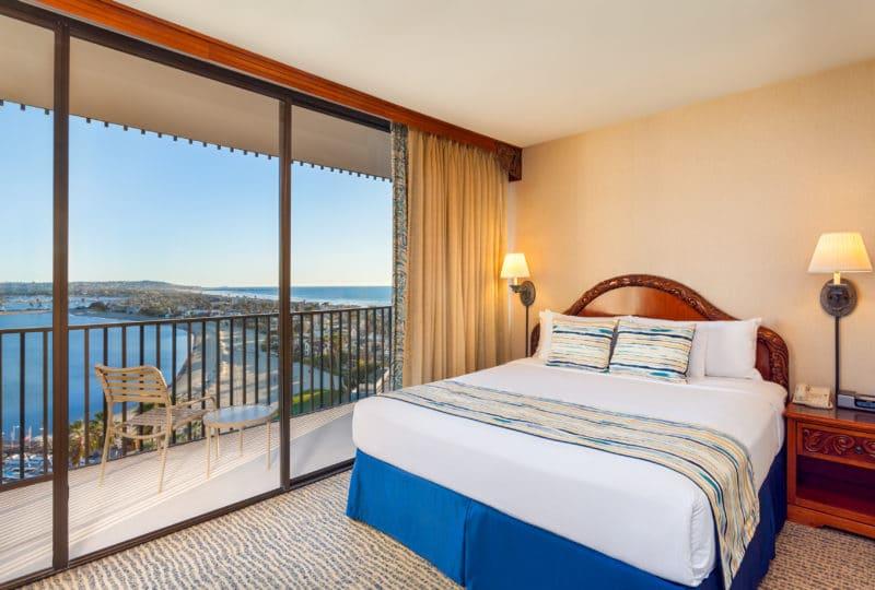 Bay View Suite at Catamaran Resort San Diego