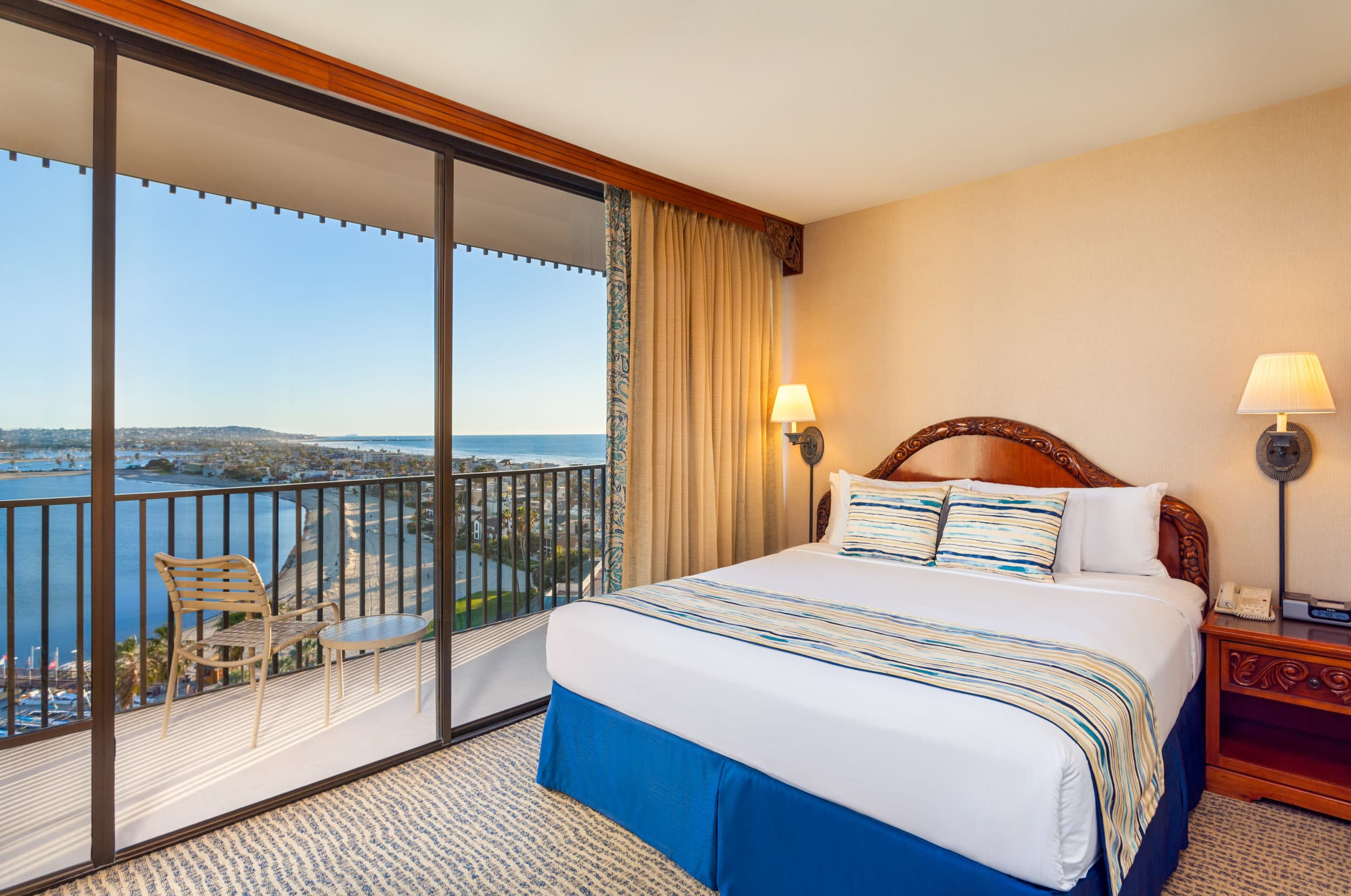 Bay View Suite at Catamaran Resort San Diego