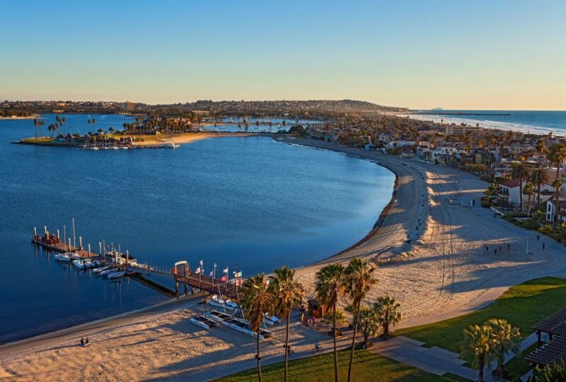 View from Tower at Catamaran Resort Hotel and Spa in San Diego
