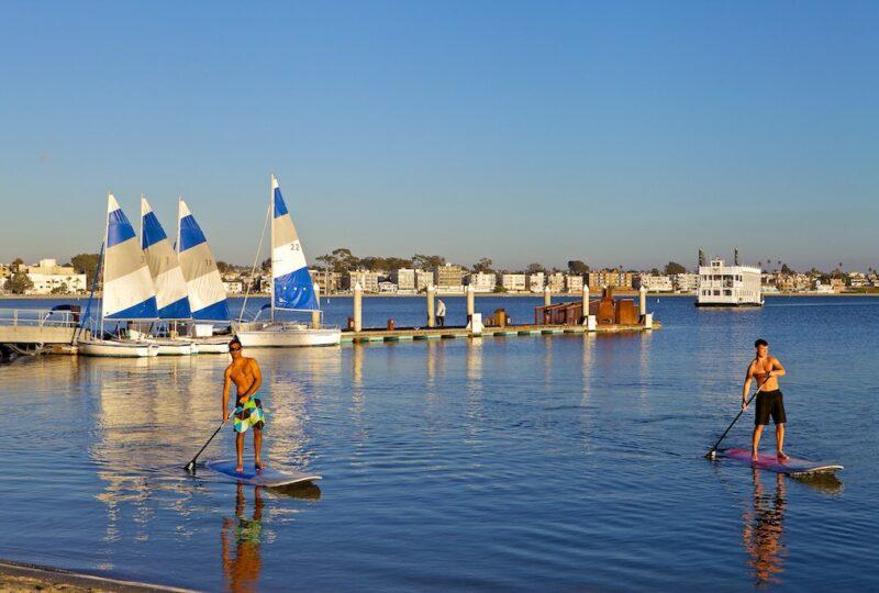 catamaran resort san diego watersports
