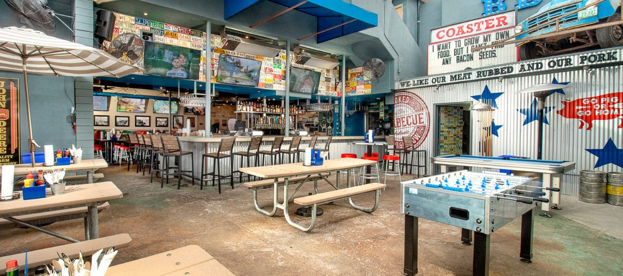 Mission Beach restaurants: Coaster Saloon