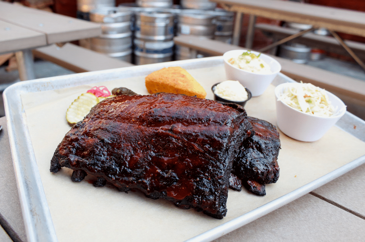 Ribs at Coaster Saloon in Mission Beach San Diego