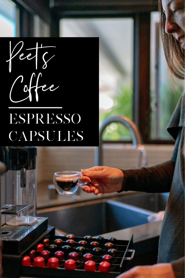 Peet's Coffee now has espresso capsules that work in Nespresso Original machines to help you stay fueled over the holiday season.