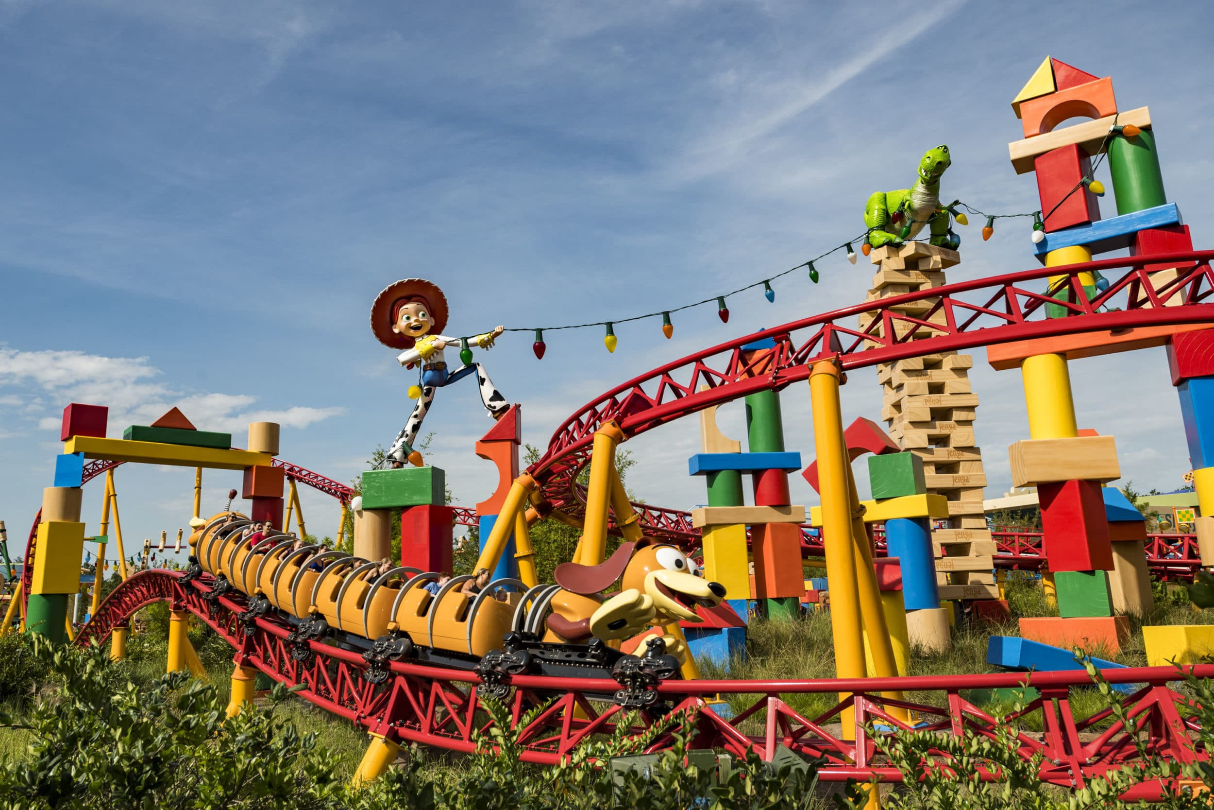 Slinky Dog Dash at Toy Story Land, a themed land at Walt Disney World