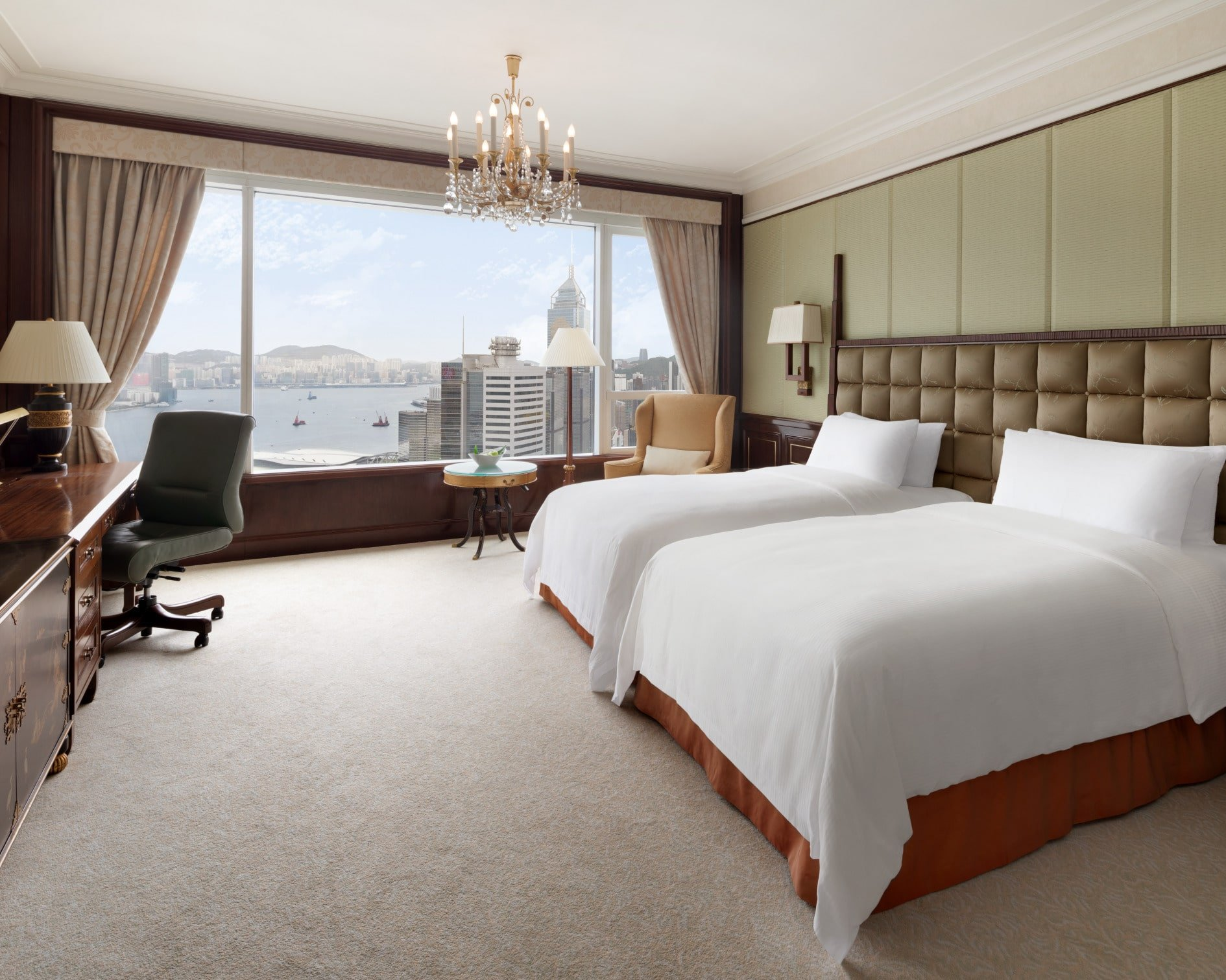 Island Shangri-La Hong Kong - Deluxe Harbor View Twin