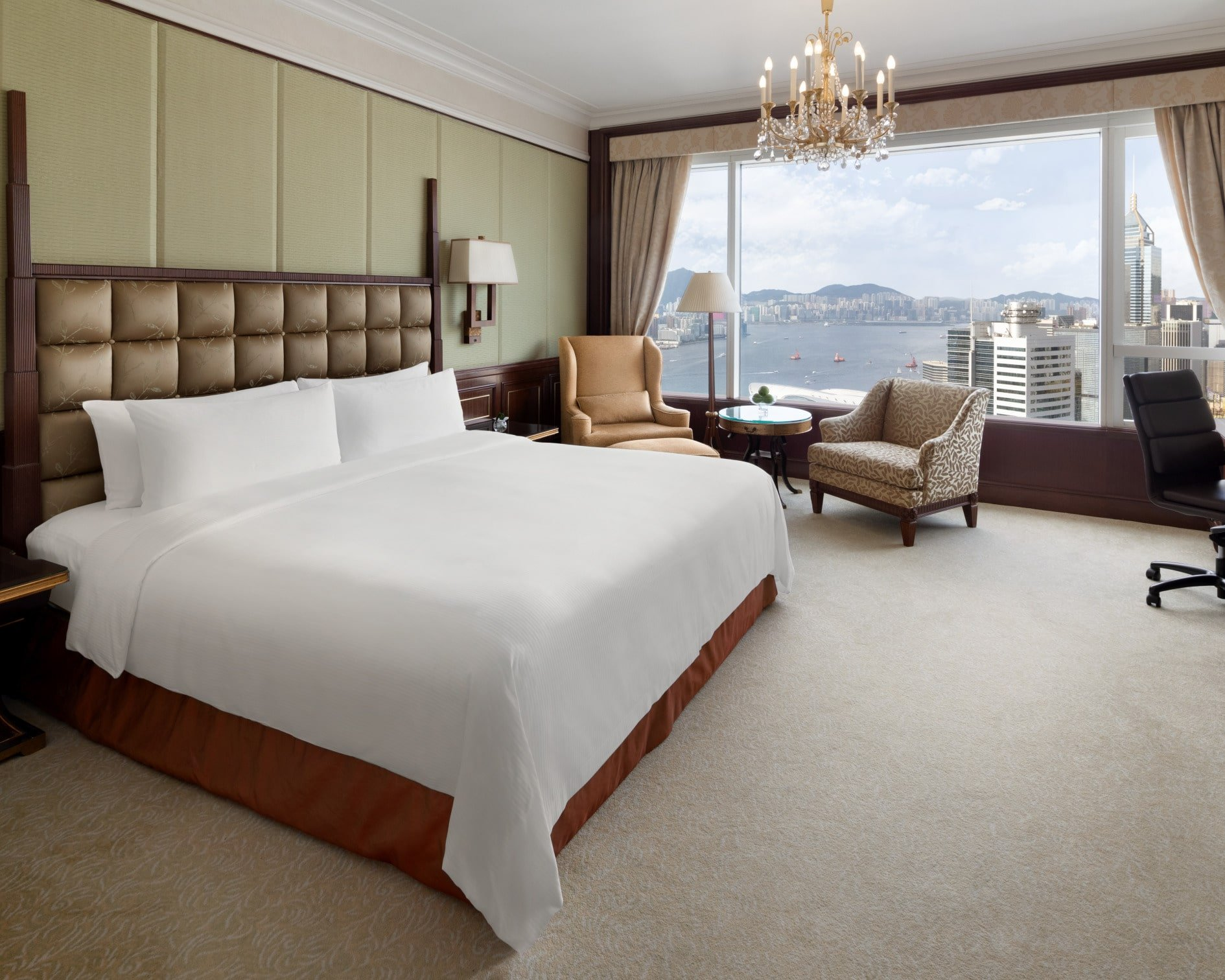 Island Shangri-la Hong Kong hotel Horizon Club Harbour View King