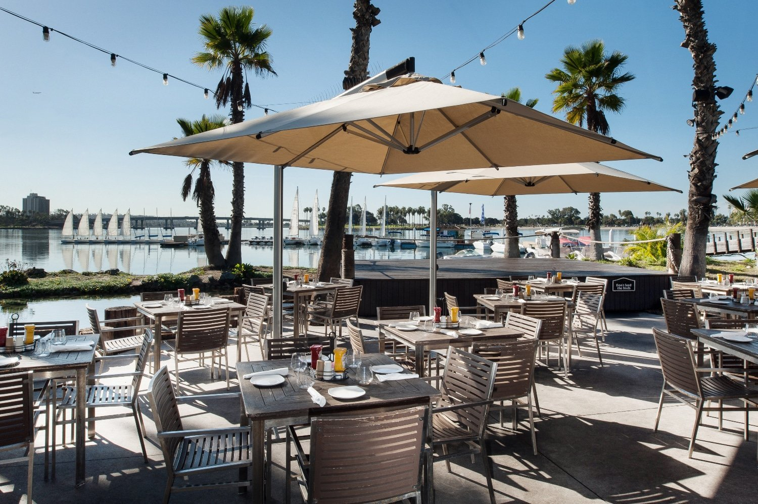 Barefoot Bar and Grill at Paradise Point Resort in San Diego