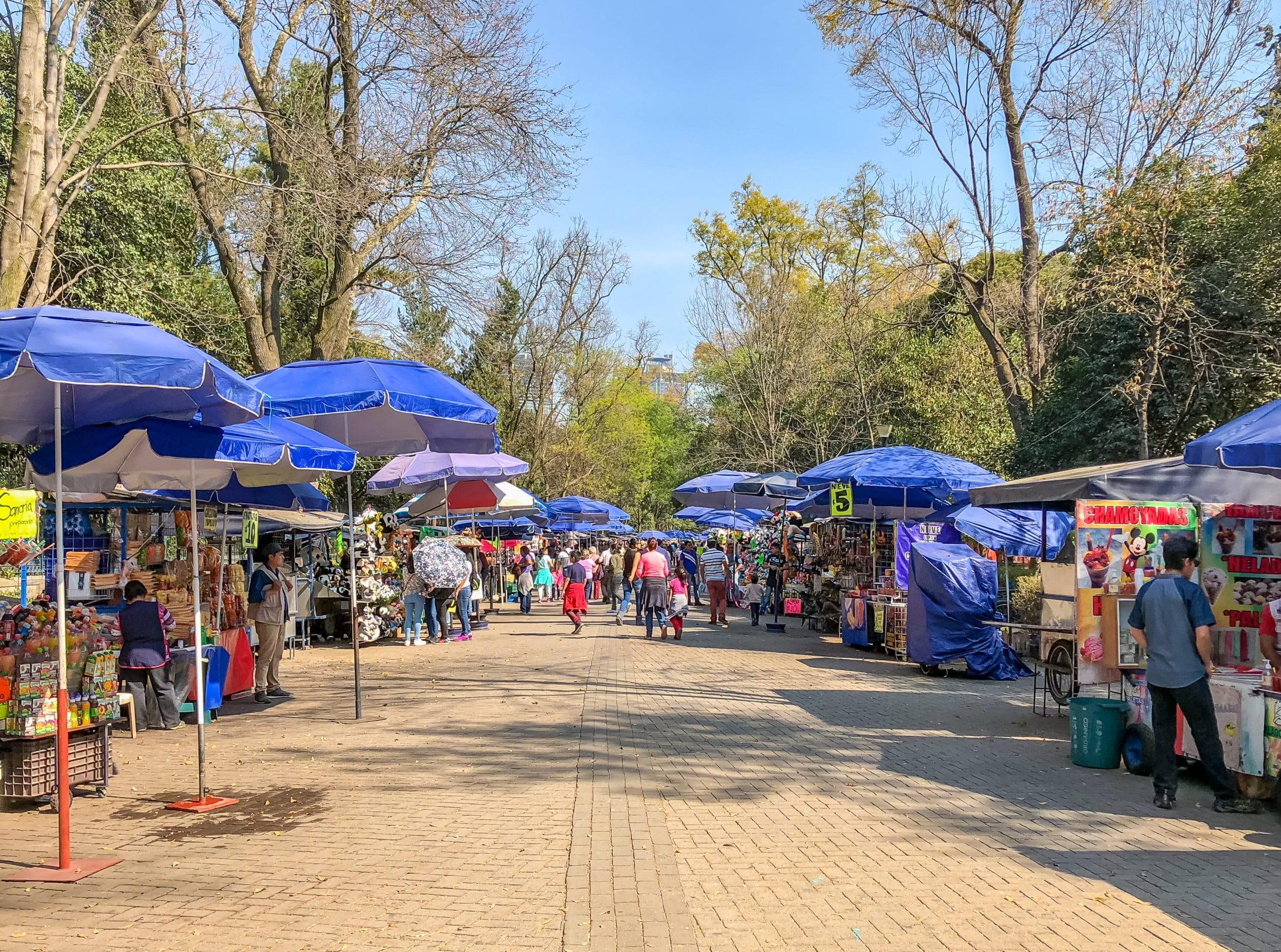 Chapultepec Park Mexico City