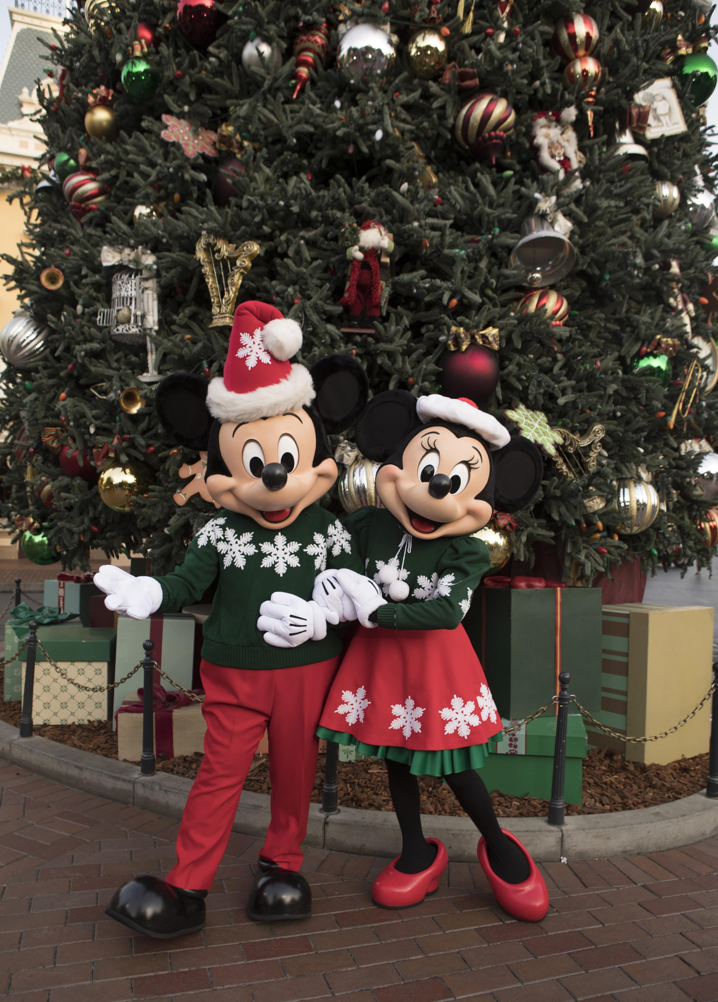 Holiday decor is one reason to visit Disneyland Resort during the holiday season.