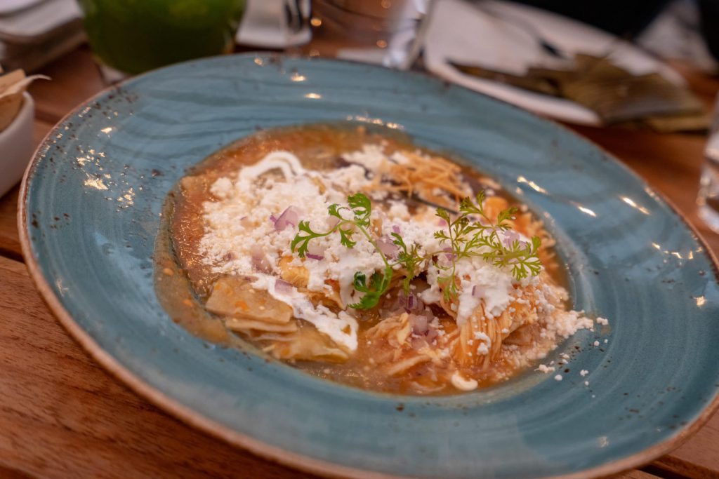 Chilaquiles at Four Seasons Mexico City