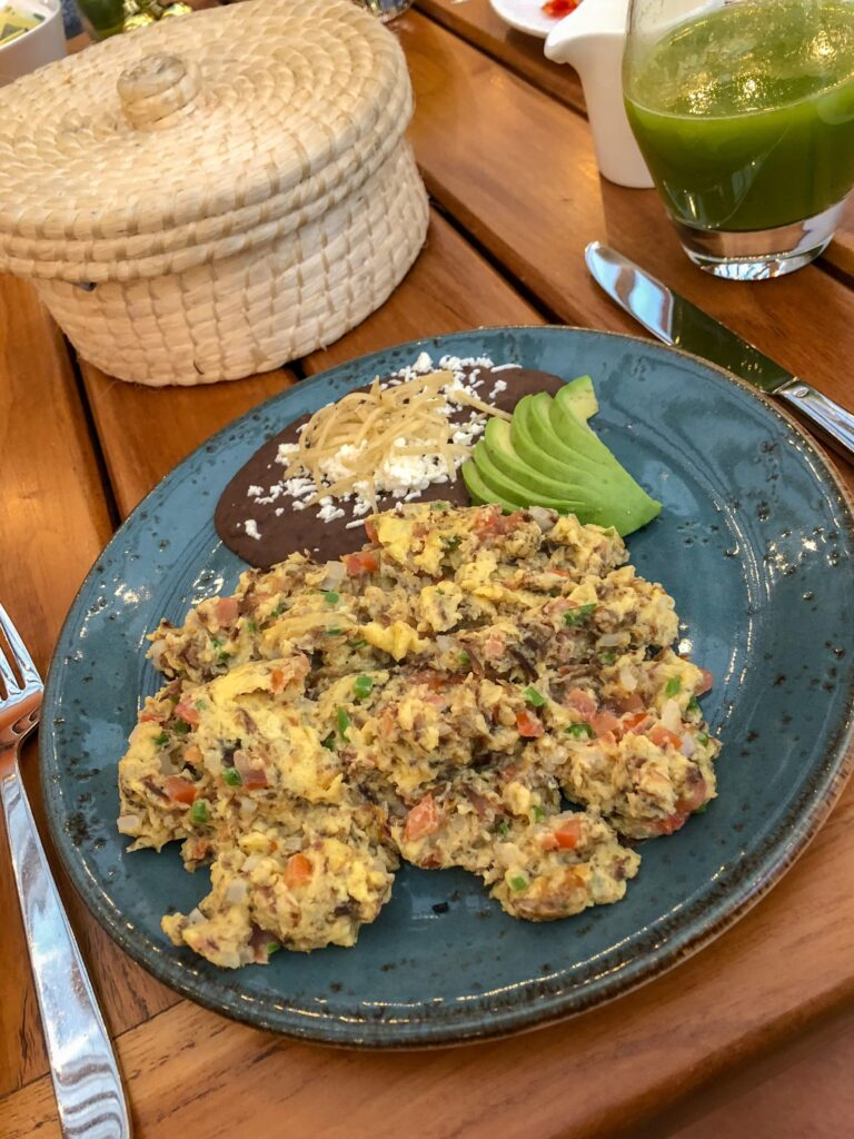 Huevos Rancheros at Four Seasons Mexico City