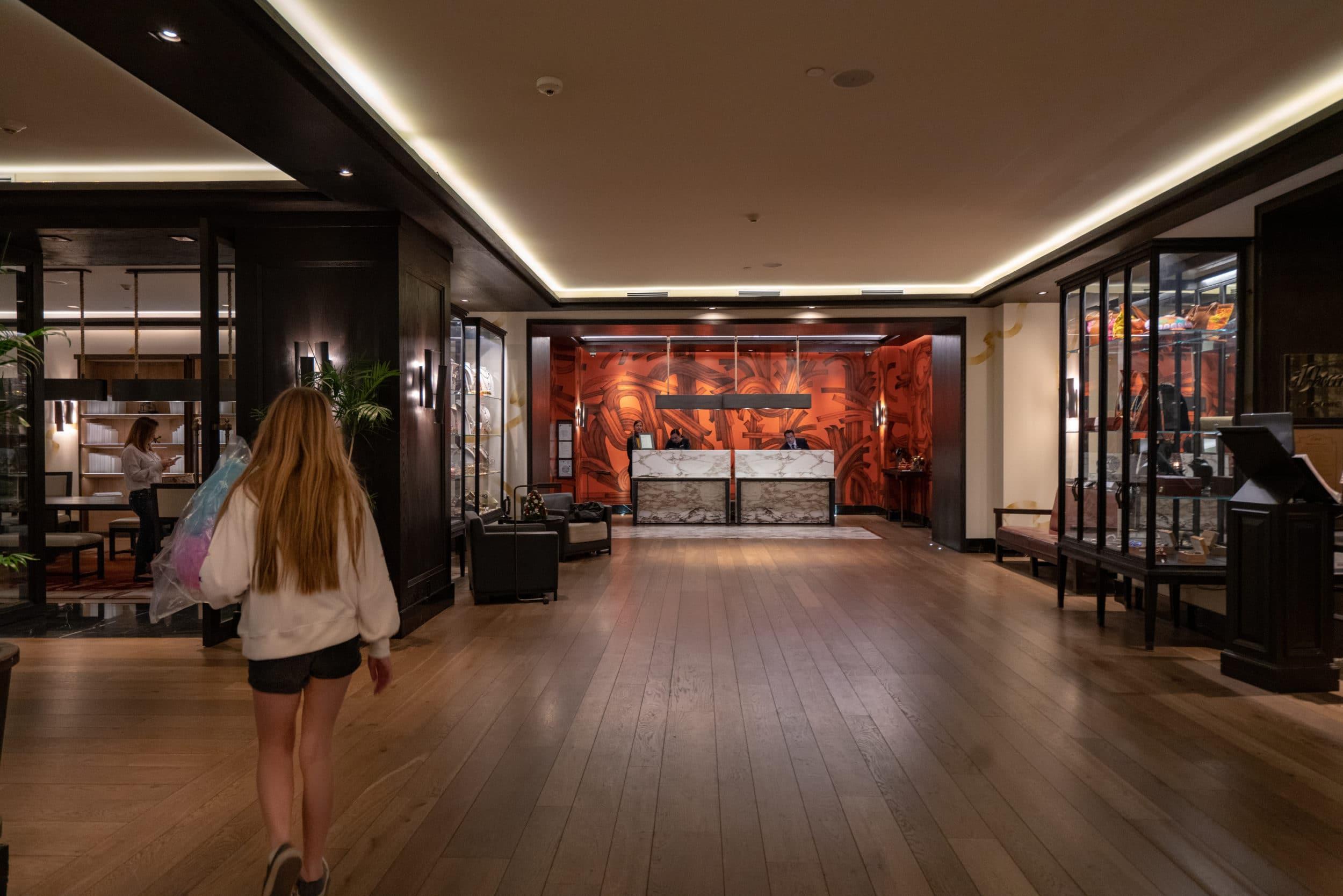 Lobby at Four Seasons Mexico City