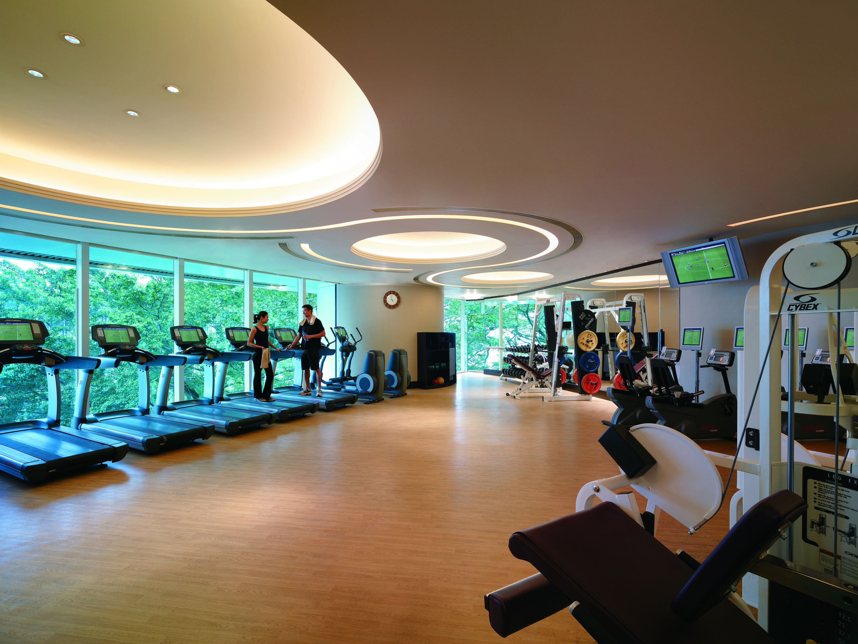 Island Shangri-la Hong Kong Fitness Center
