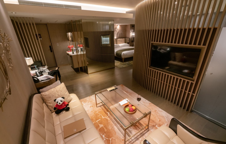 The L600 room at The Landmark Mandarin Oriental, Hong Kong