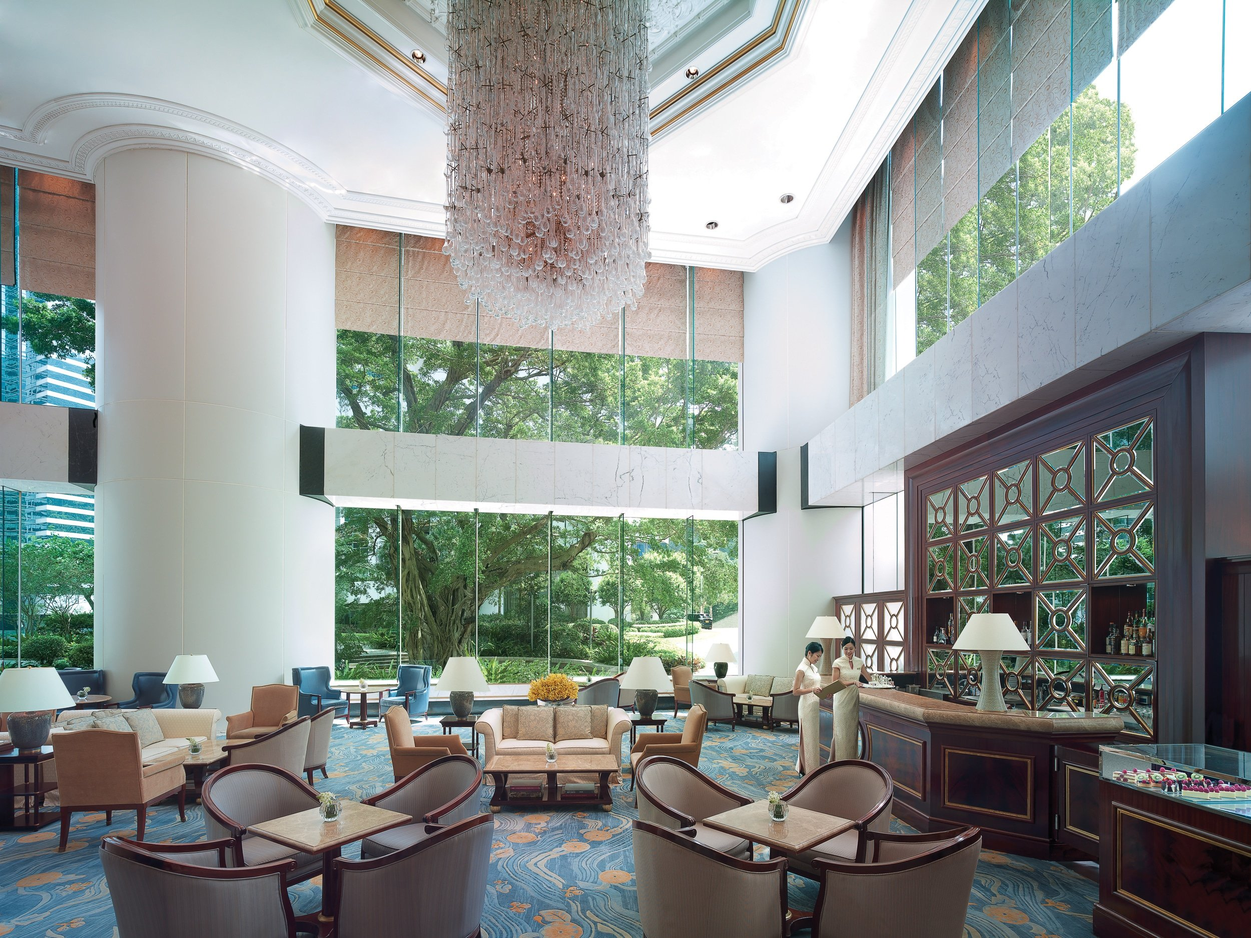 Lobby Lounge at Island Shangri-la Hong Kong