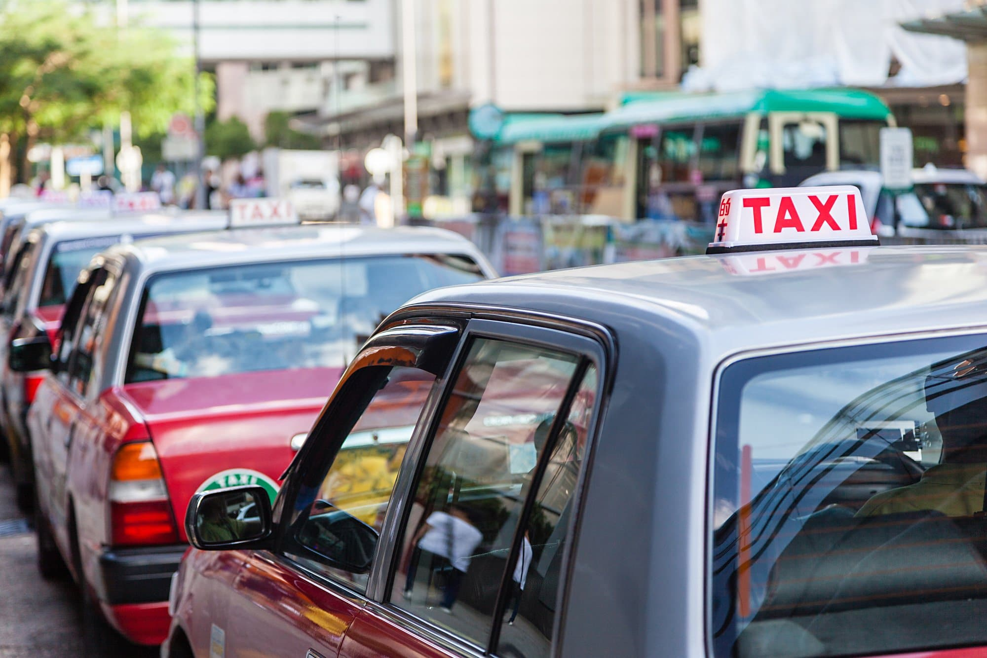 Take a taxi to your hotel from Hong Kong airport