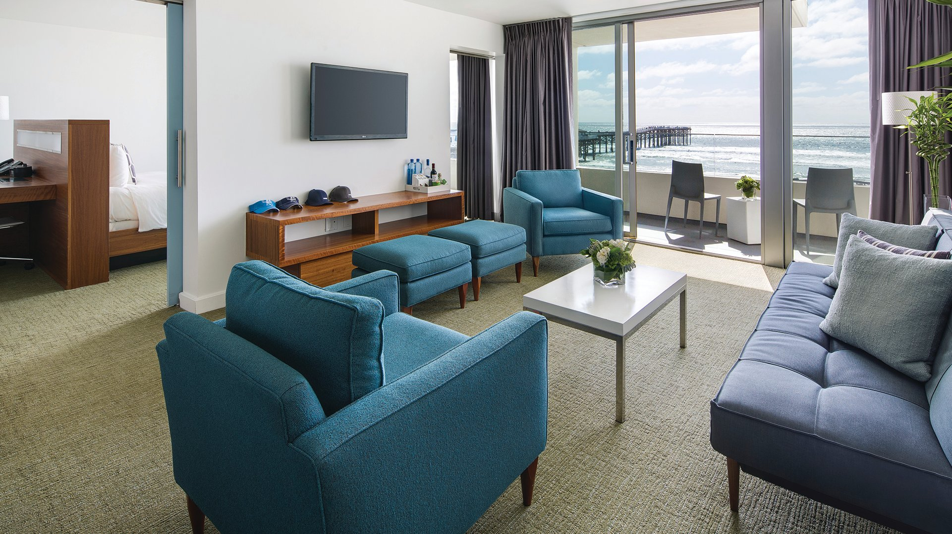 Sweet Suite at Tower 23 hotel in San Diego's Pacific Beach