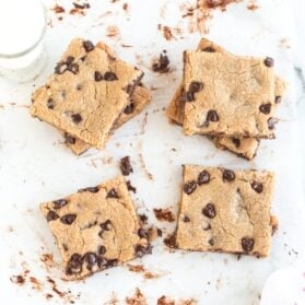 USS Midway Chocolate Chip Cookies Recipe from 1945