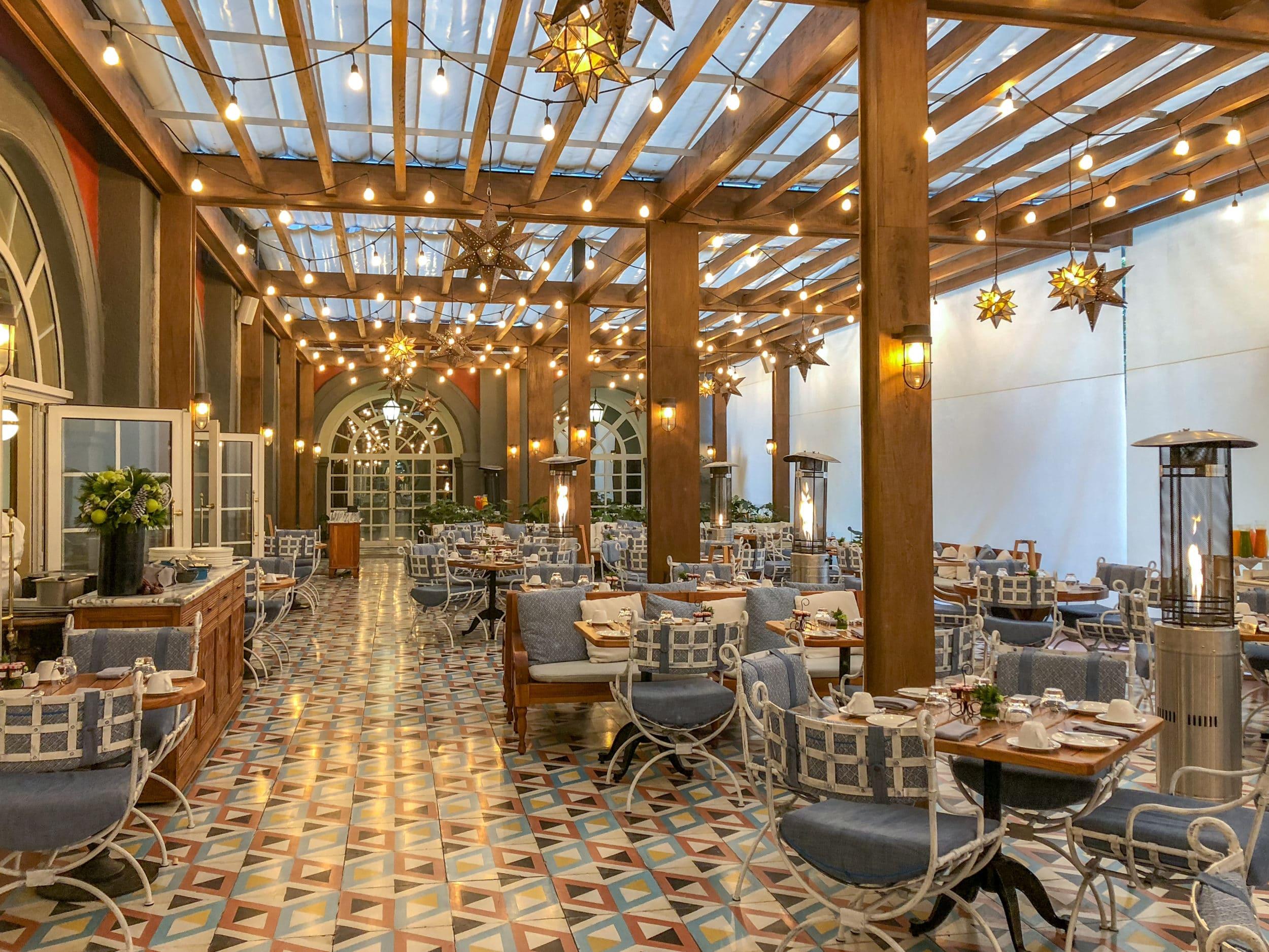 Zanaya restaurant at Four Seasons Mexico City