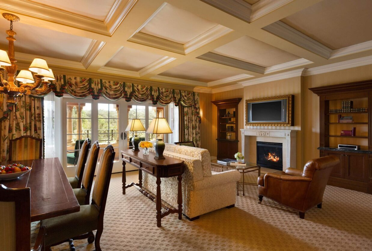 Palazzo Suite Living Room at Fairmont Grand Del Mar