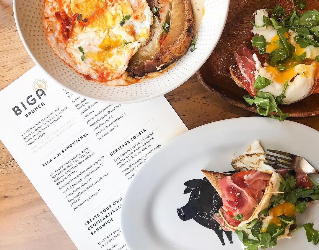 Best downtown San Diego restaurants: BIGA