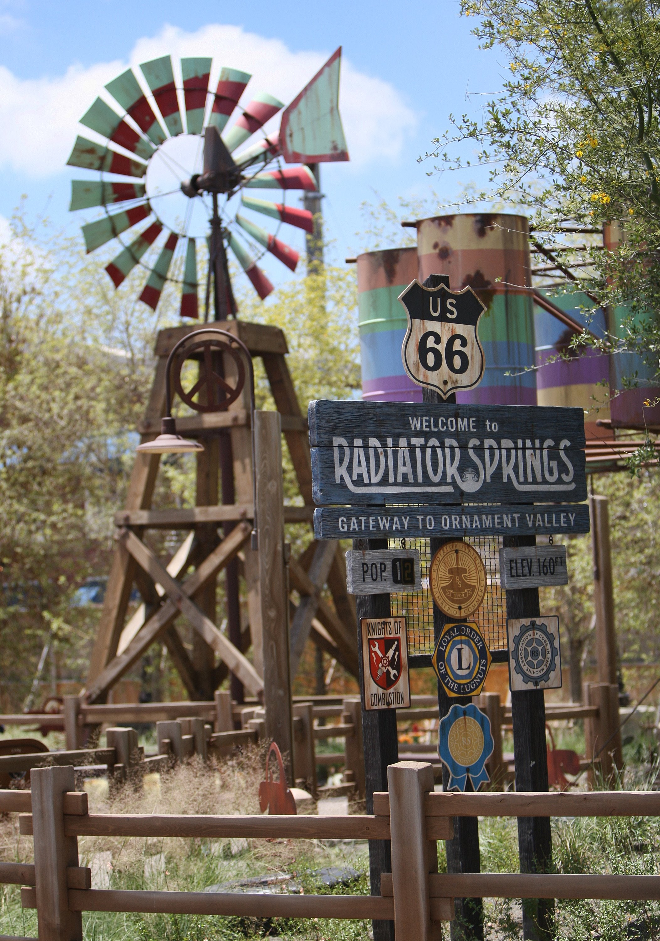 Cars Land at Disney California Adventure is home to Radiator Springs Racers