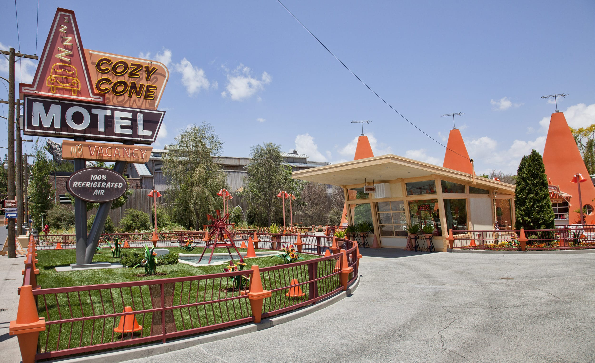 Cozy Cone Motel at Disney California Adventure
