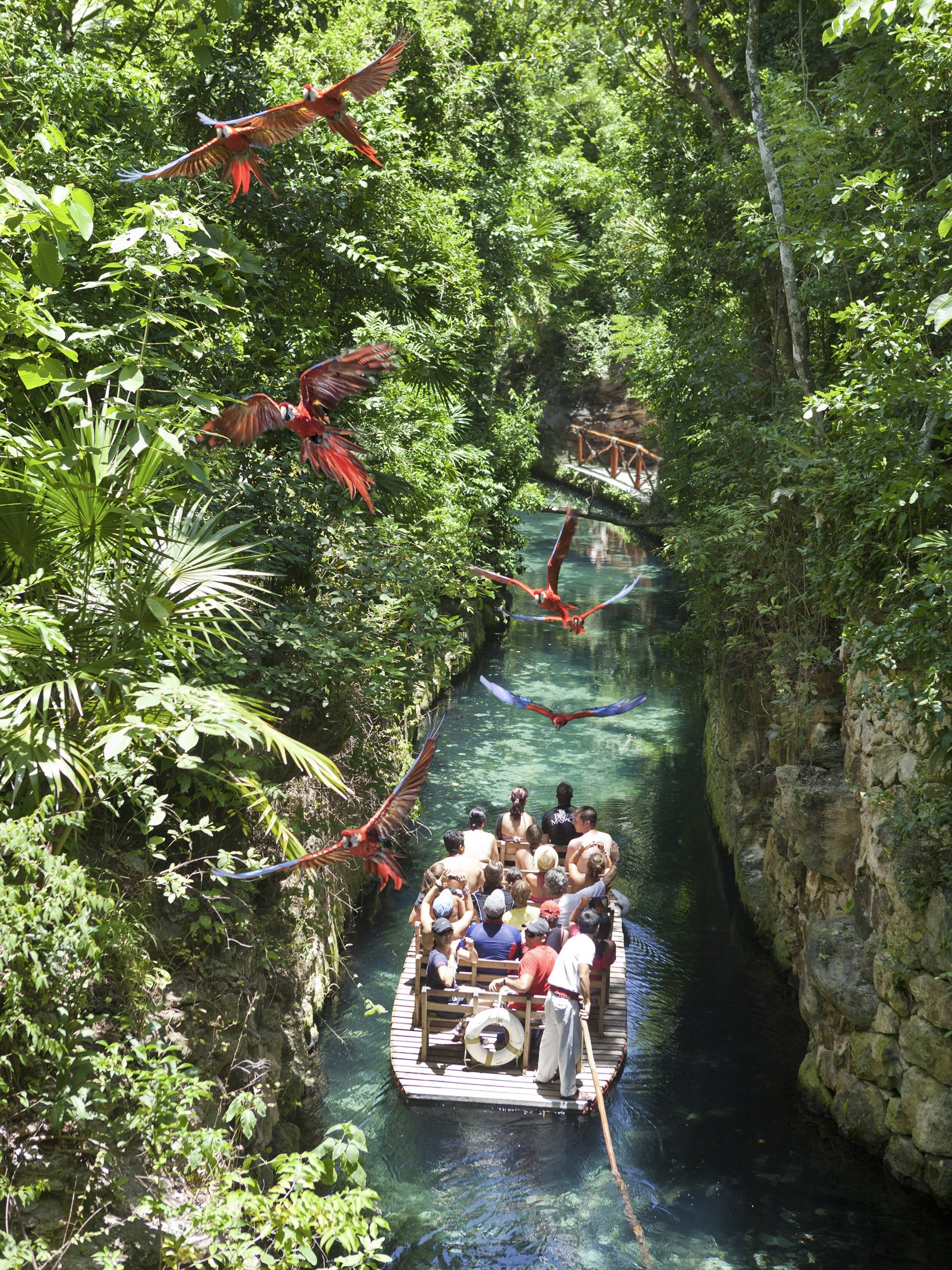 Best day trips from Cancun: Xcaret