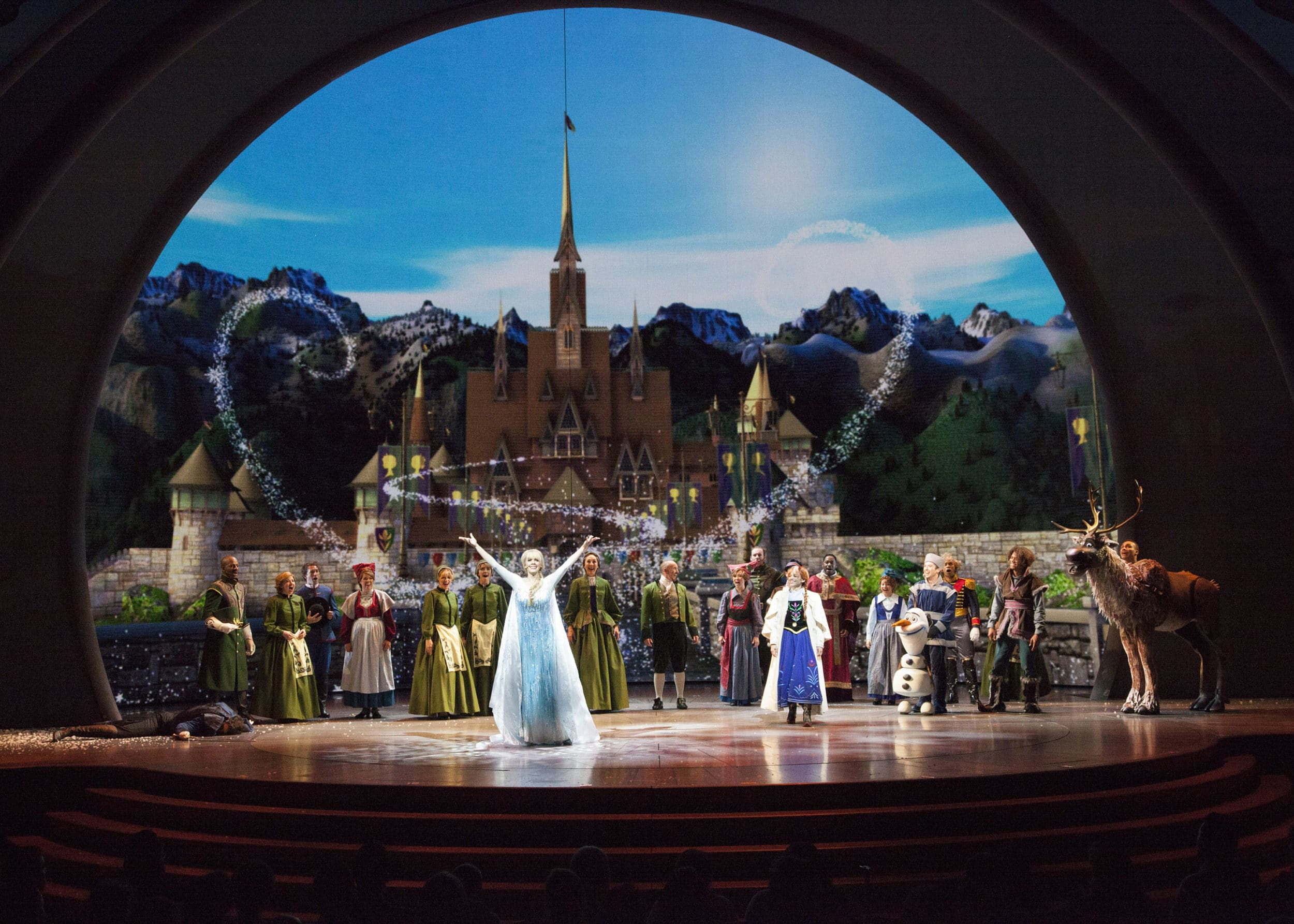 Frozen Live: Disney California Adventure