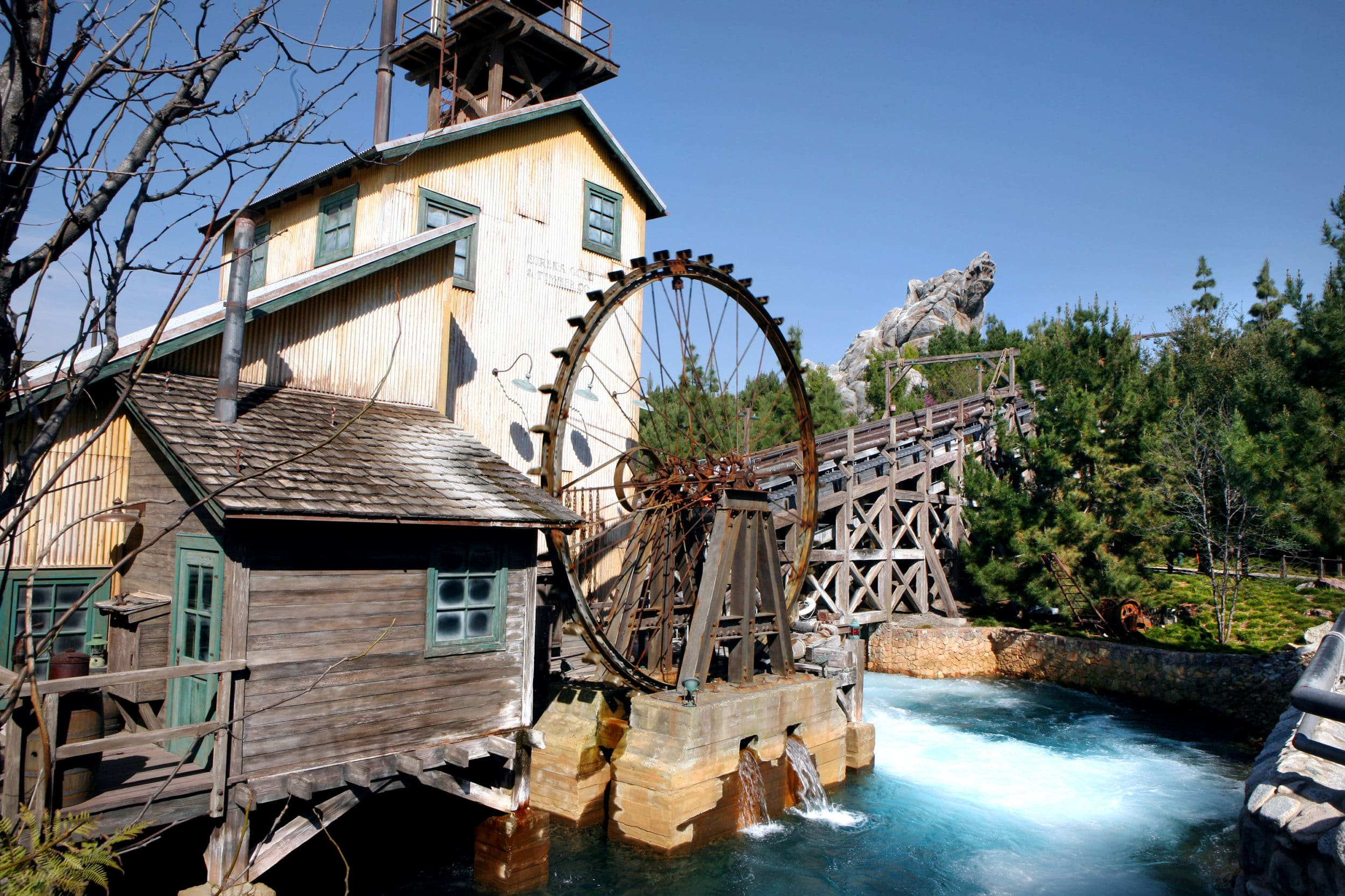Grizzly Peak land at Disney California Adventure