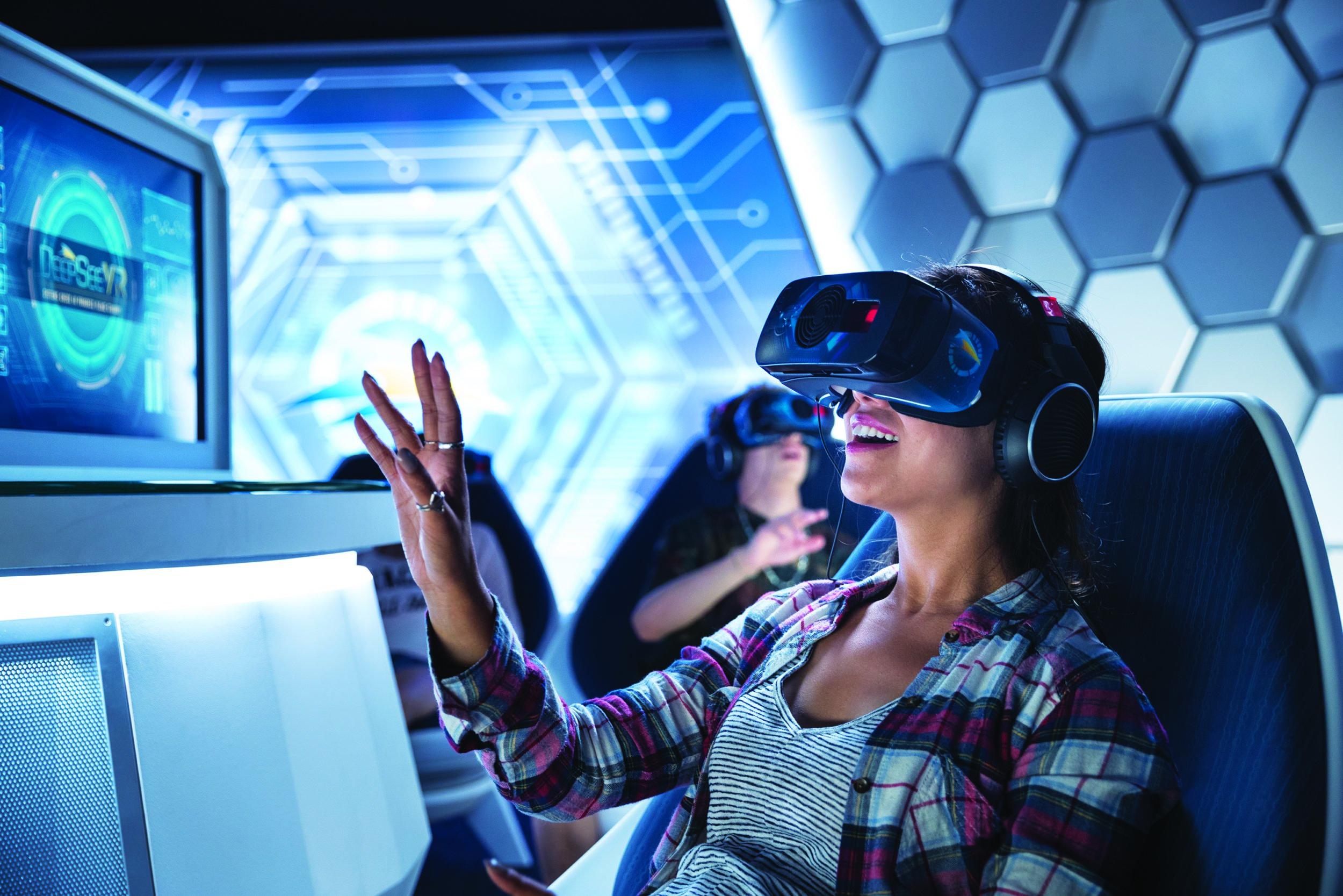 SeaWorld San Diego with teens and tweens: DeepSEE VR: Orca 360