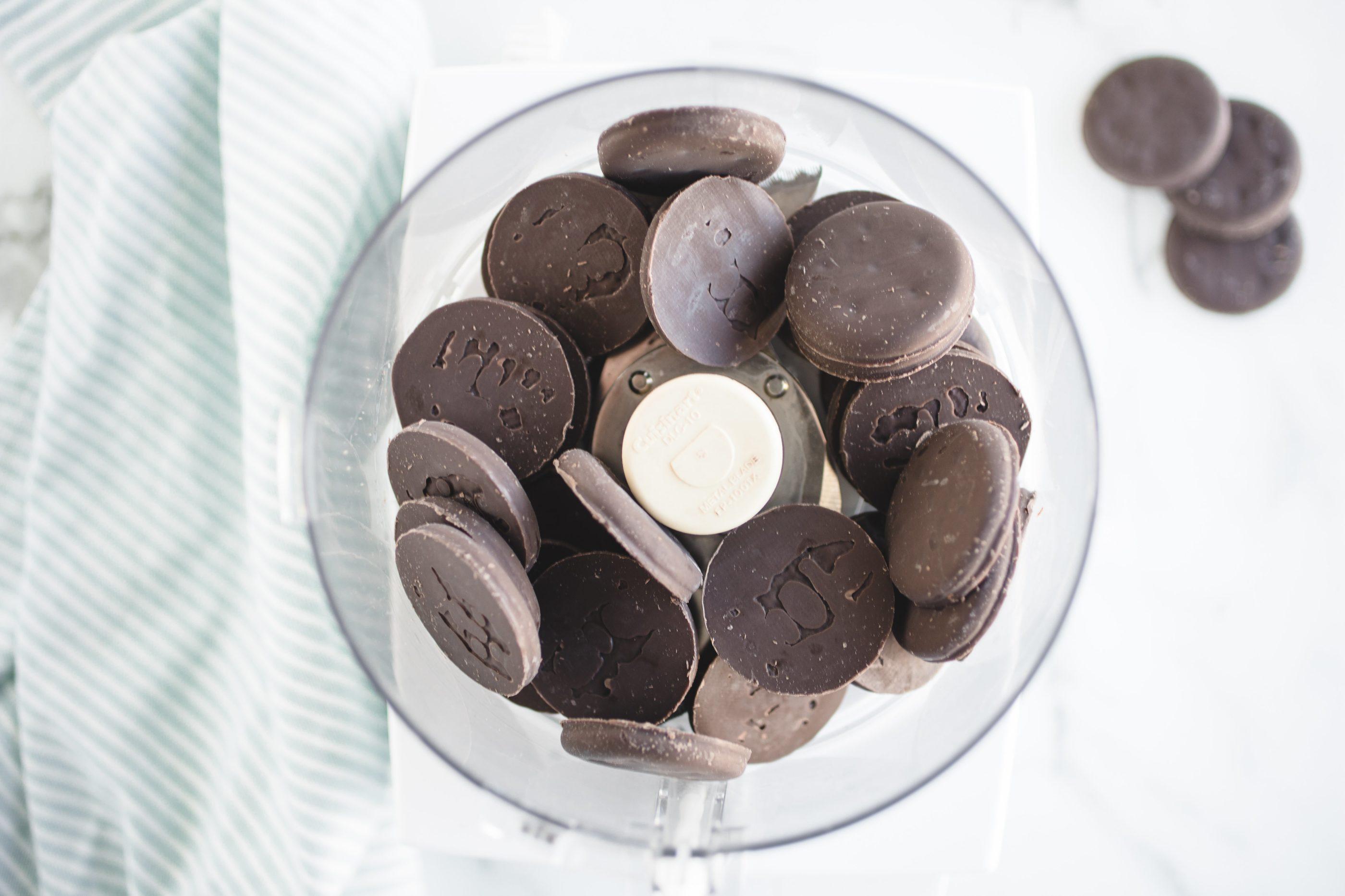 Thin Mints Cookies for ice cream pie