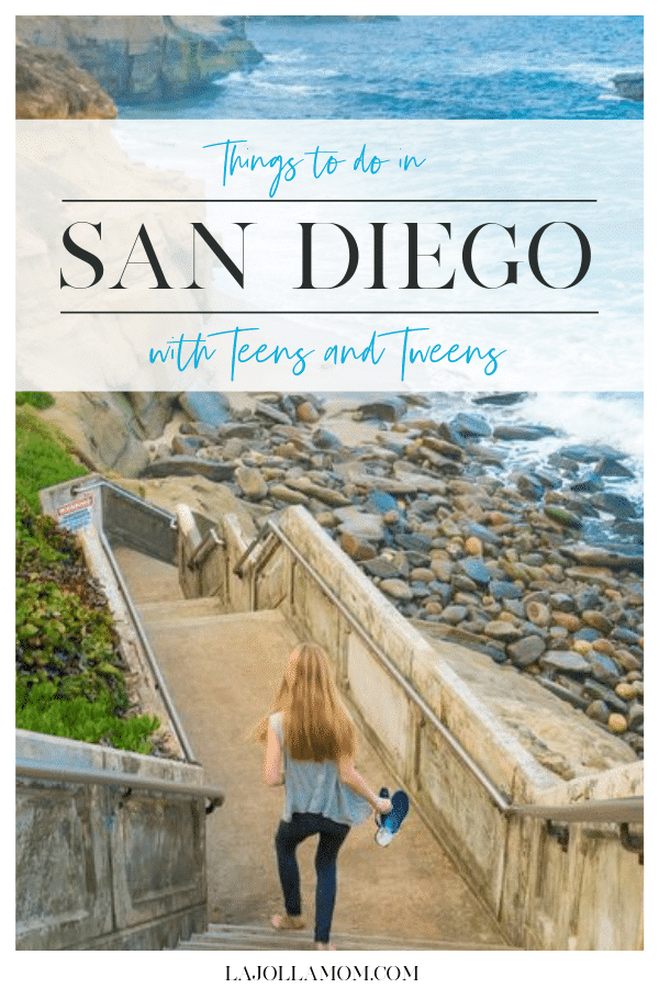 A list of the best museums, tours, beaches and other things to do in San Diego with teens and tweens.