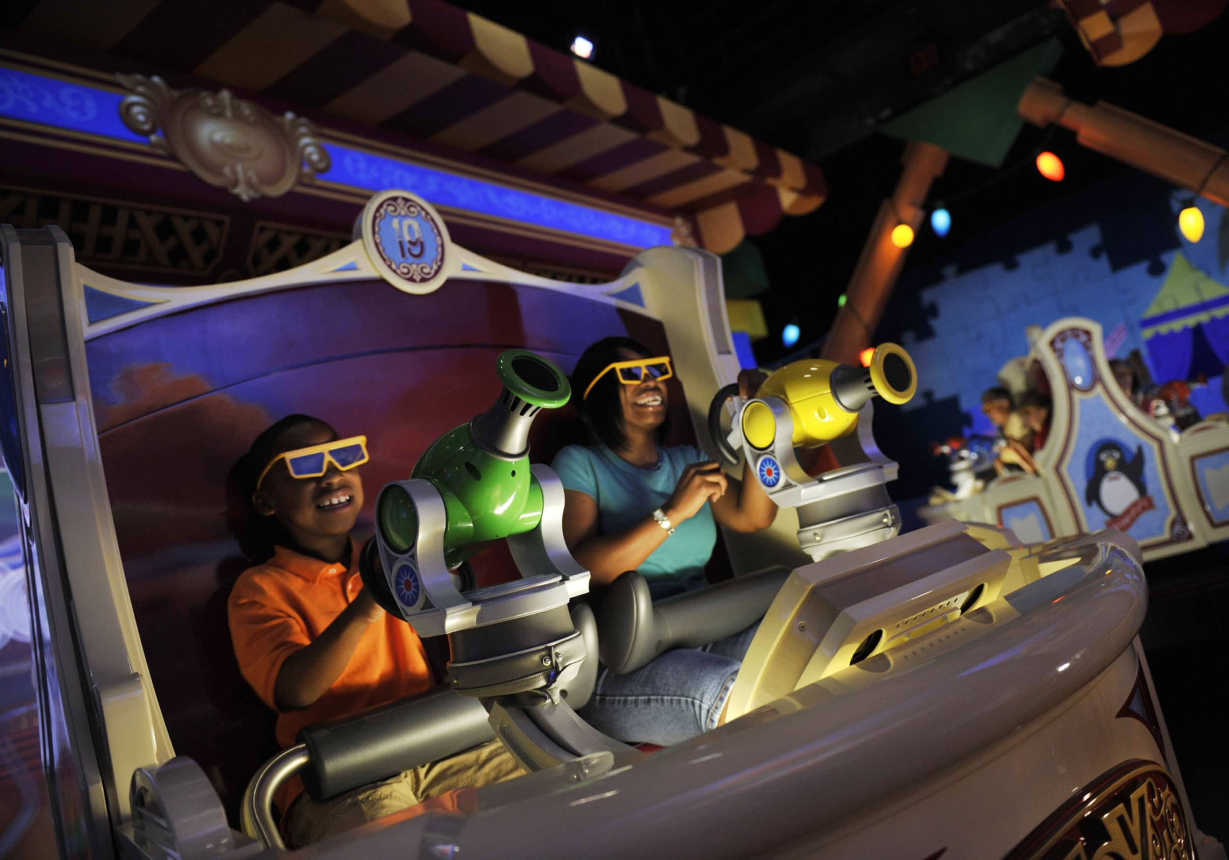 Toy Story Midway Mania at Disney California Adventure park