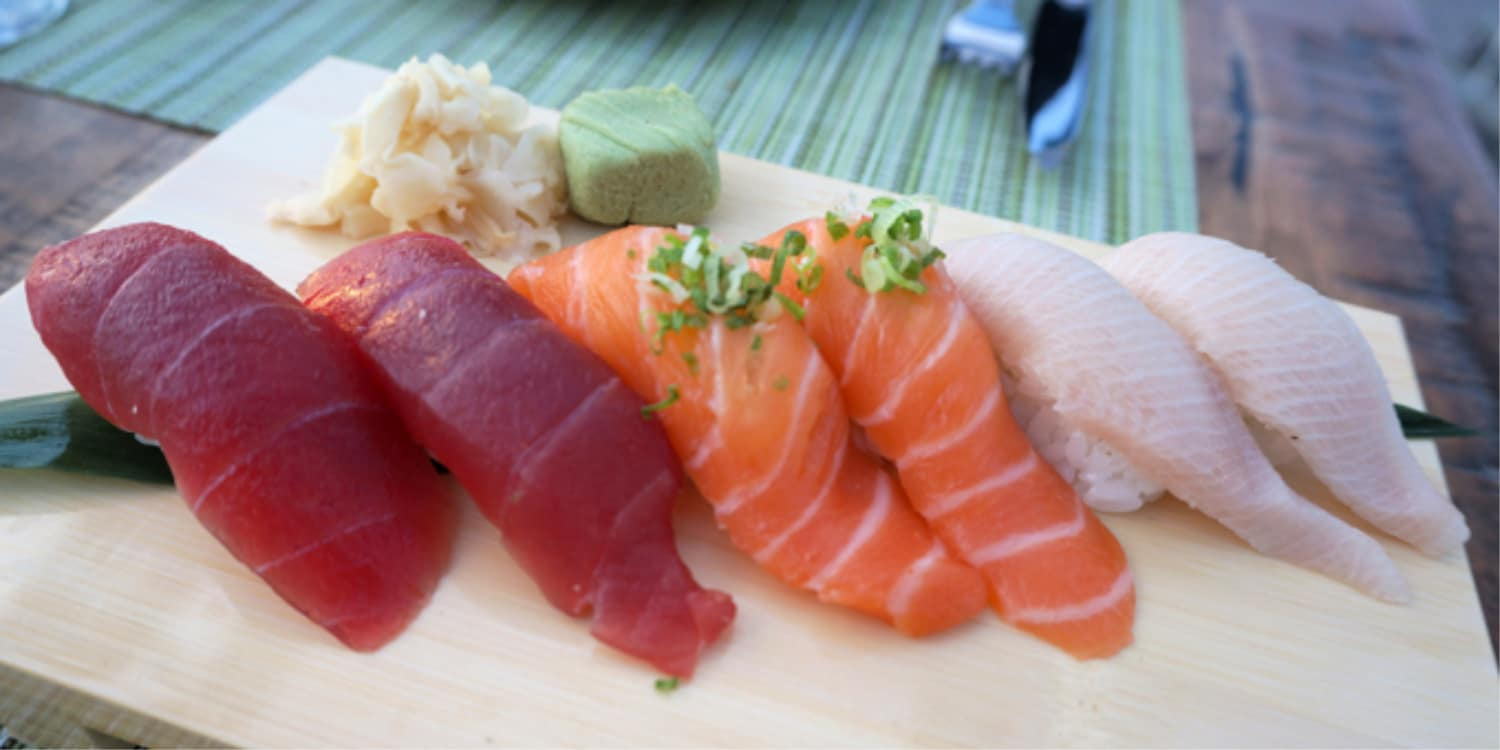 Sushi at Cannonball, a best Mission Beach restaurant
