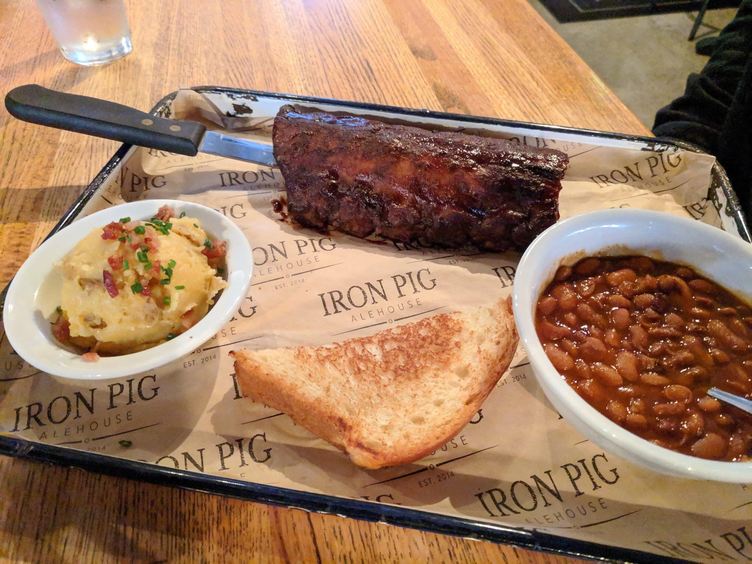 Best Pacific Beach restaurants: Iron Pig Alehouse