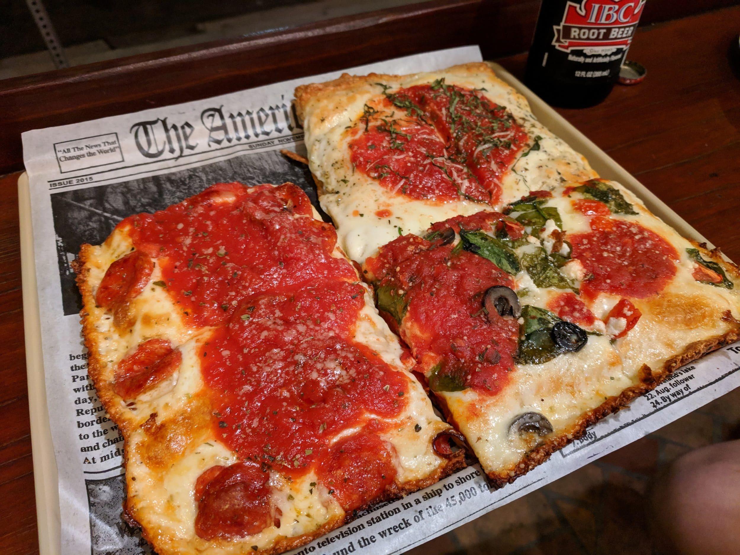 Best Pacific Beach restaurants: Square Pizza