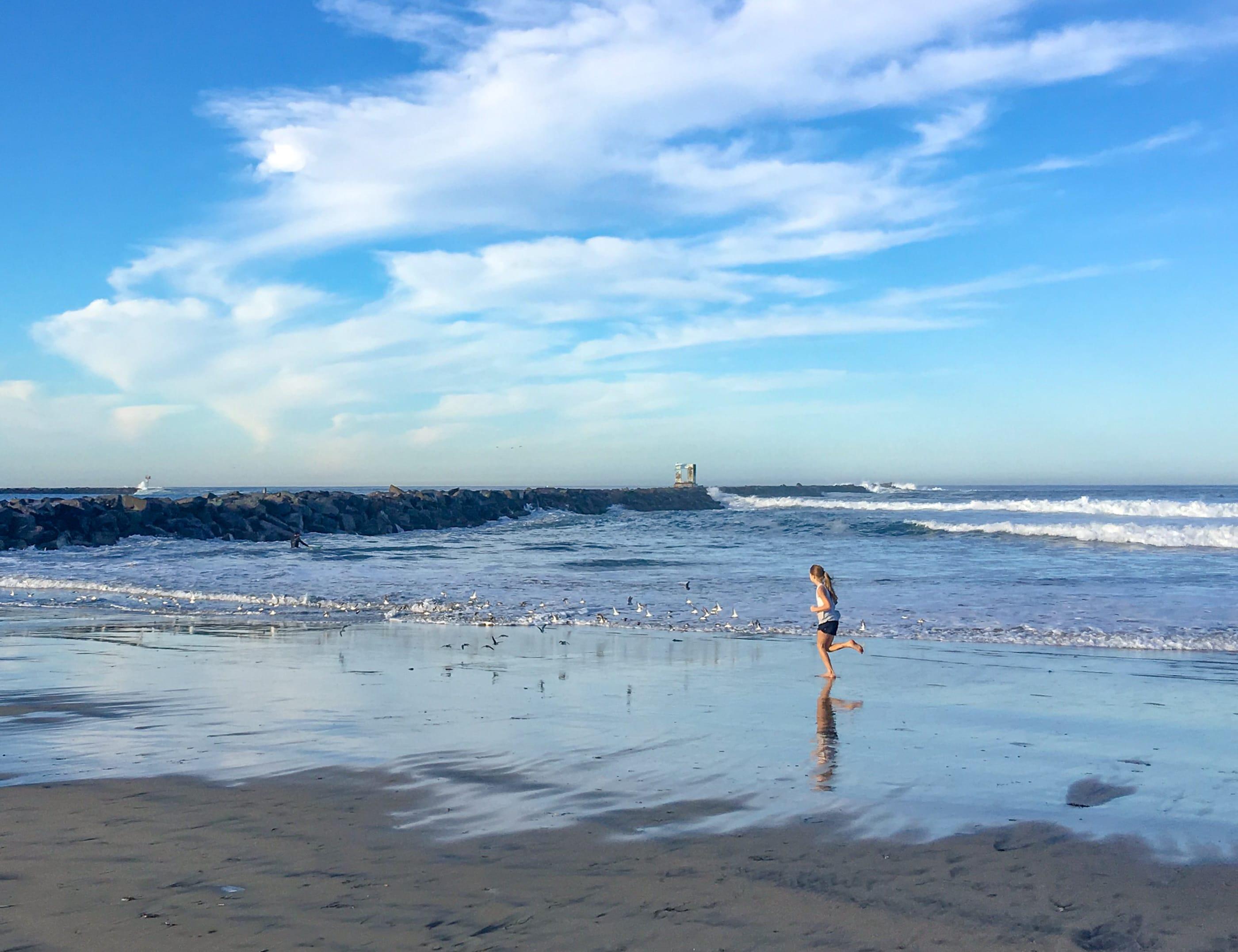 Mission Beach jetty