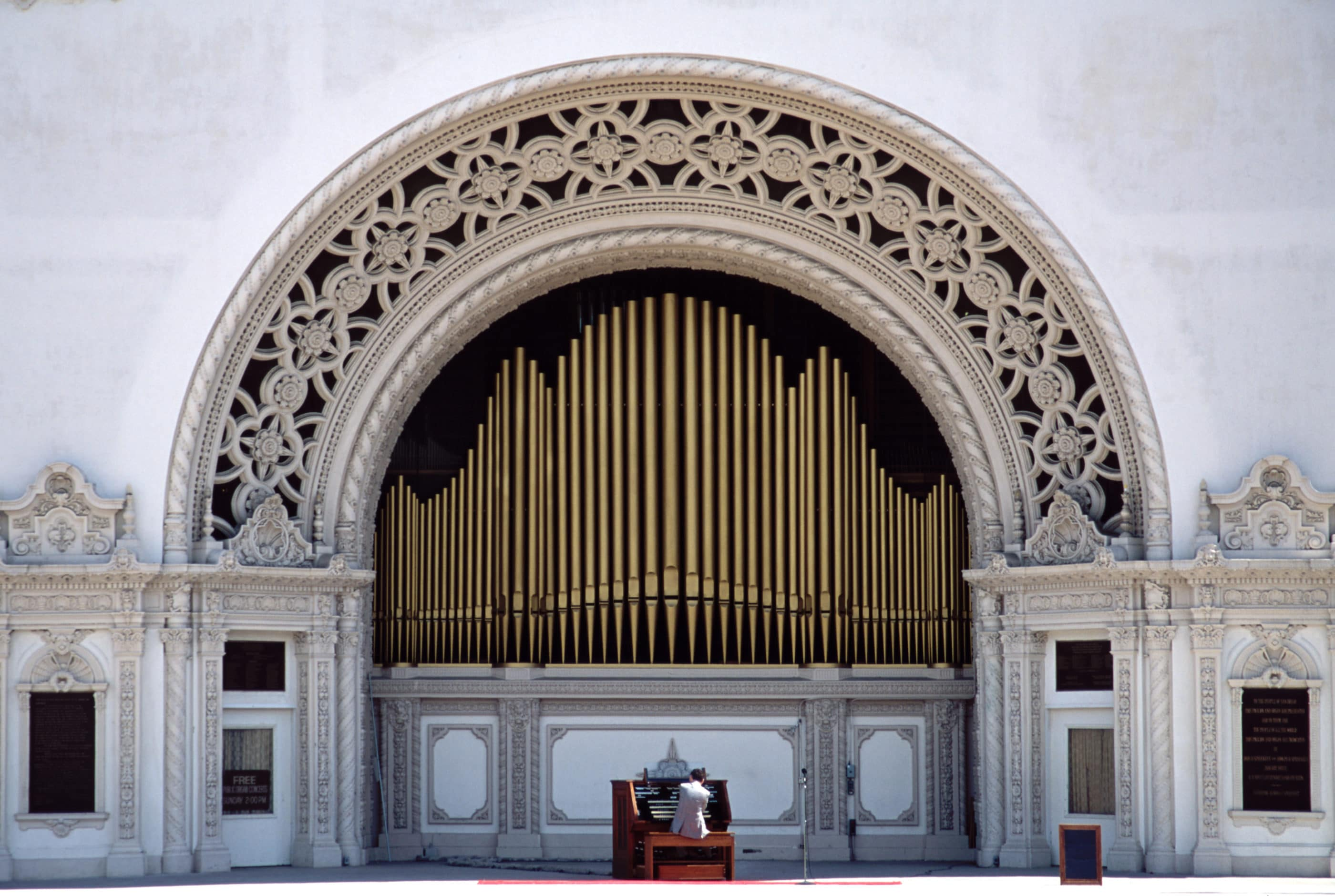 Spreckels Organ Pavillion in Balboa Park