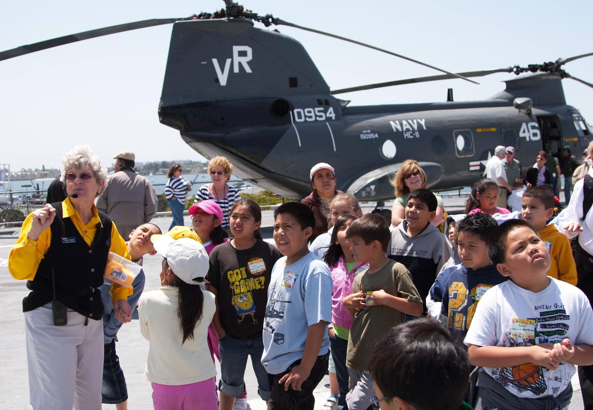 Best San Diego Children's Museum: USS Midway Museum
